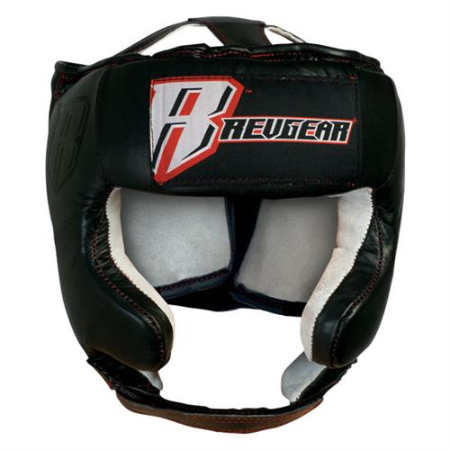 Revgear Revgear Leather Open Face Headgear